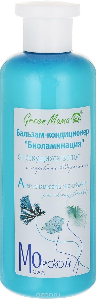 Бальзам-кондиционер Green Mama Фиторегенерация от выпадения волос, с морскими водорослями, 400 мл шампунь фиторегенерация от в green mama шампунь фиторегенерация от в