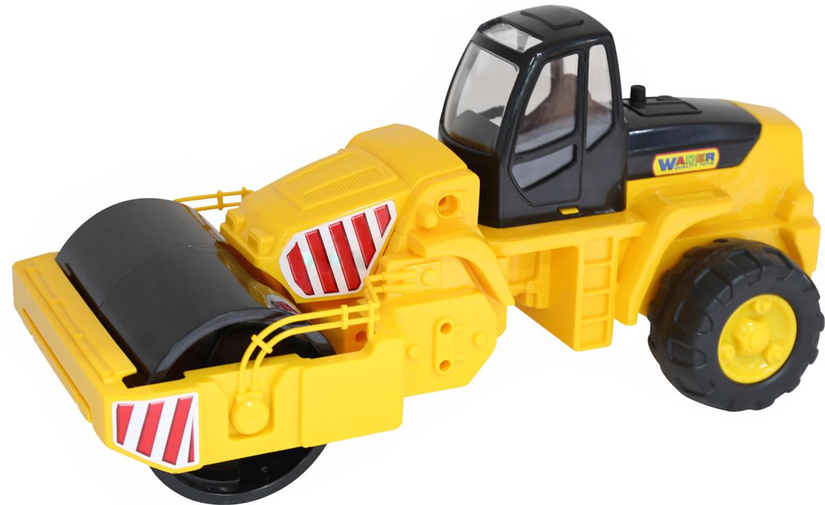 Полесье Дорожный каток, цвет в ассортименте машина игрушечная с аксессуарами полесье volvo дорожный каток