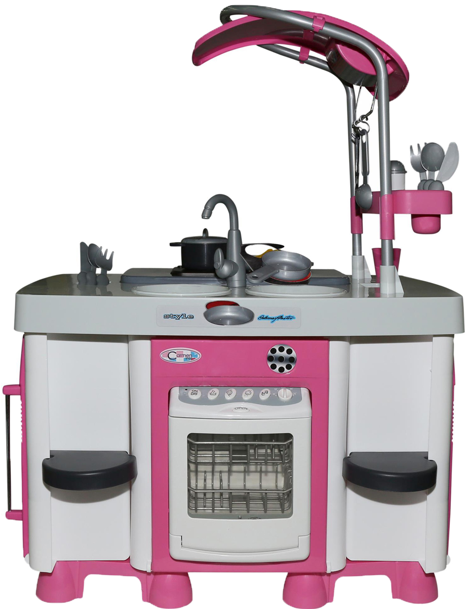 Полесье Игровой набор Carmen №7 с посудомоечной машиной и варочной панелью игровой набор klein автосервис bosch с машиной для сборки