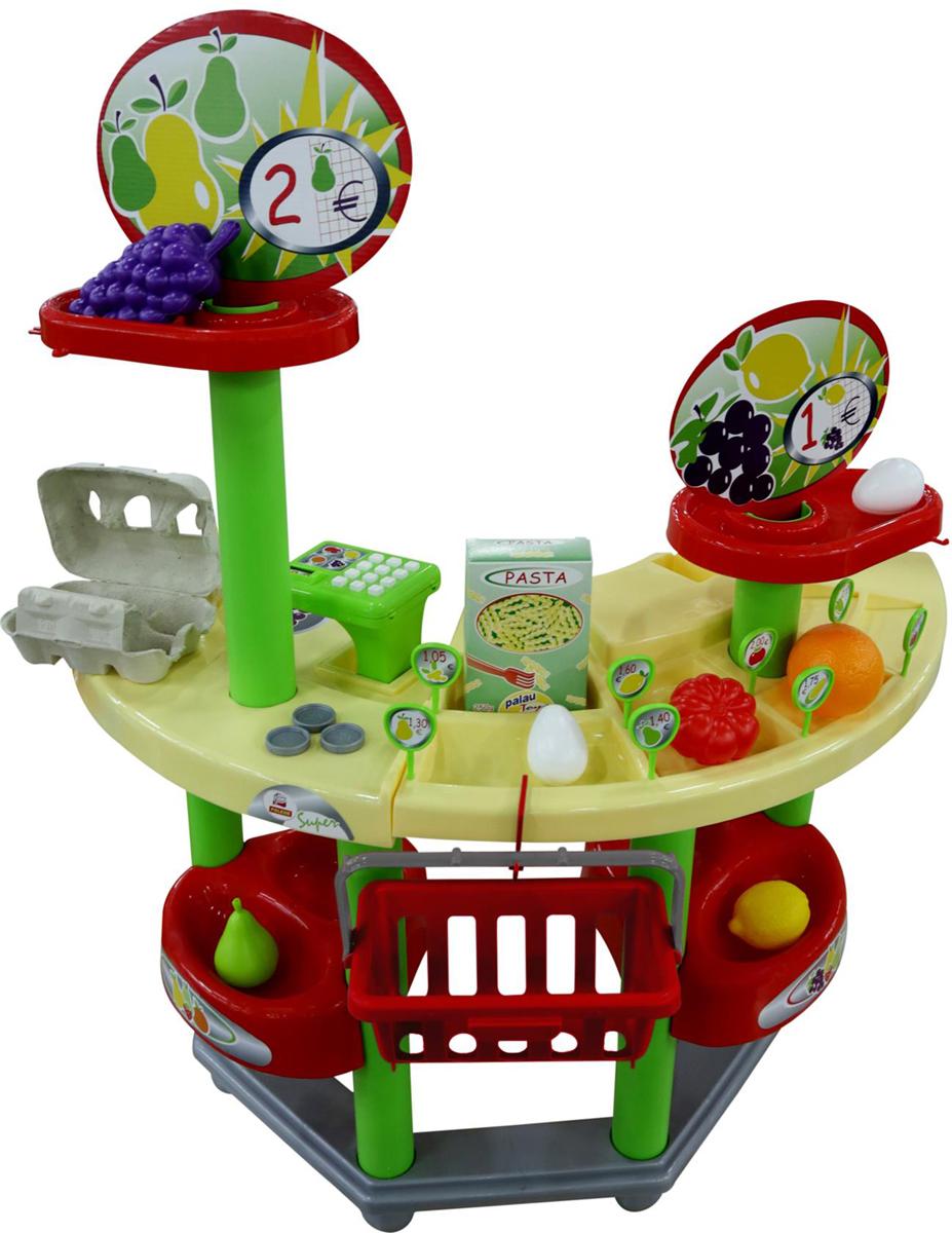 Фото - Полесье Игровой набор Supermarket №1, цвет в ассортименте полесье игрушечная тележка supermarket 1 с набором продуктов цвет в ассортименте