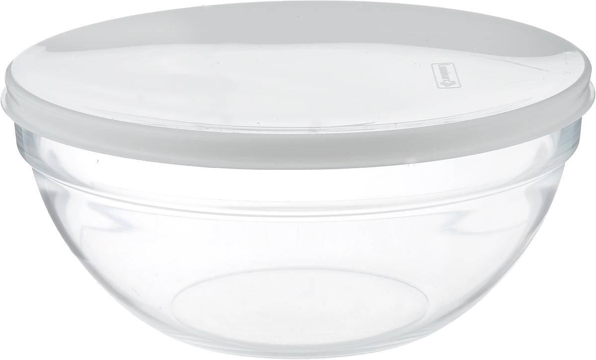 "Салатник Luminarc ""Empilable"", с крышкой, диаметр 23 см"