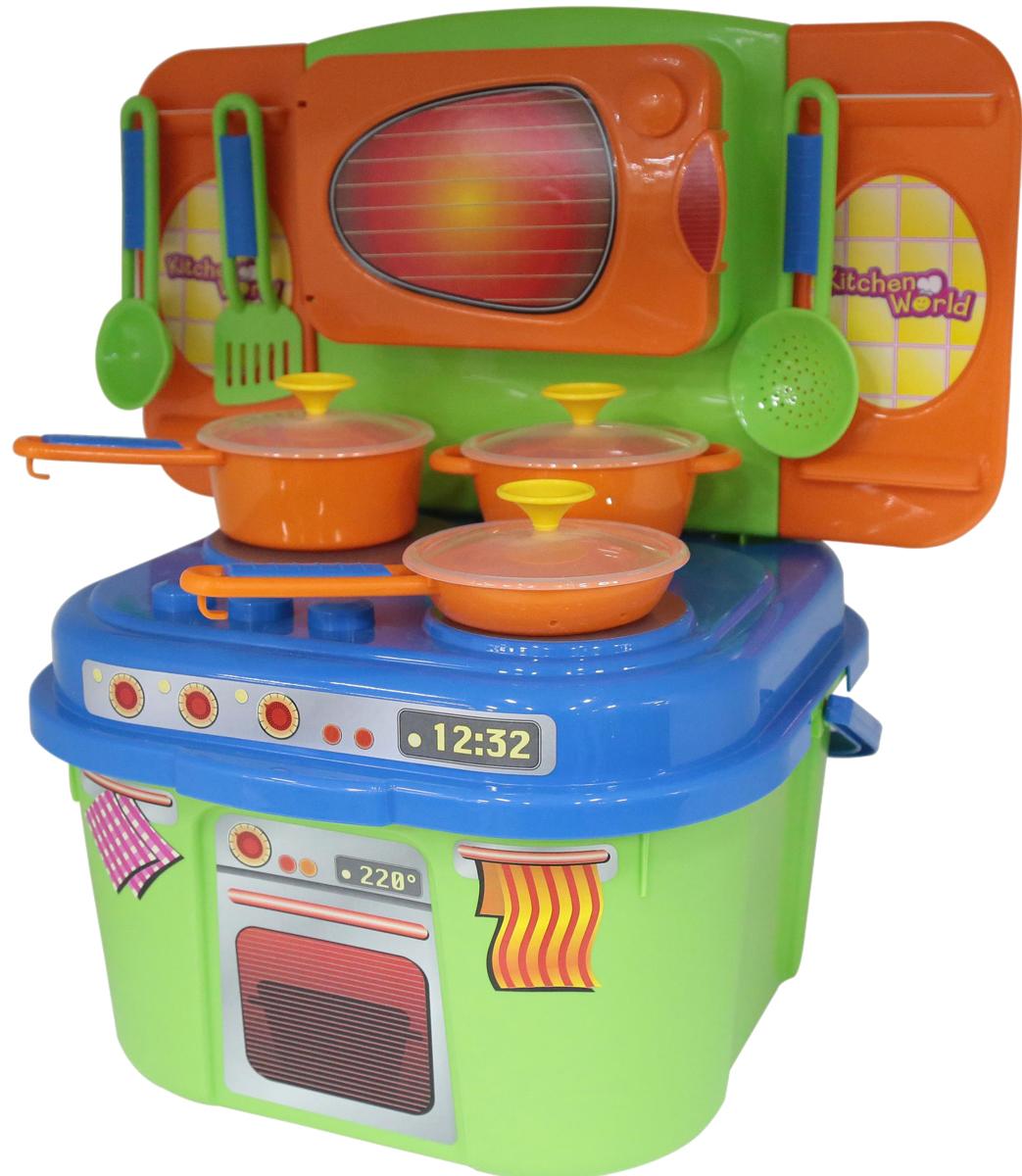 Полесье Игровой набор Мини-кухня, цвет в ассортименте полесье игровой набор чистюля мини 42910