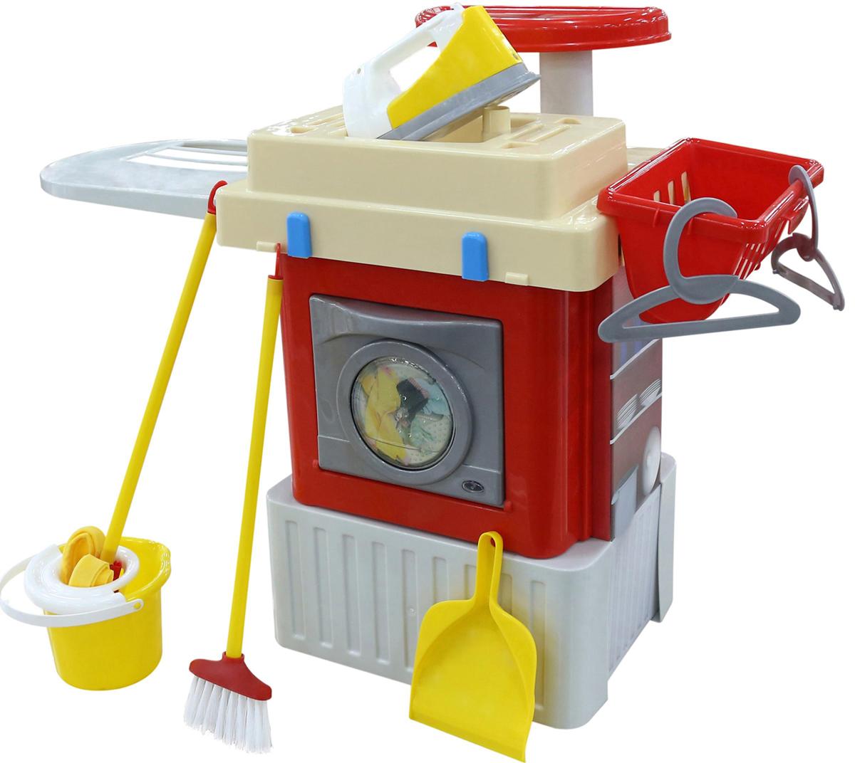 Фото - Полесье Игровой набор со стиральной машиной Infinity Basic №3, цвет в ассортименте полесье набор игрушек для песочницы 468 цвет в ассортименте