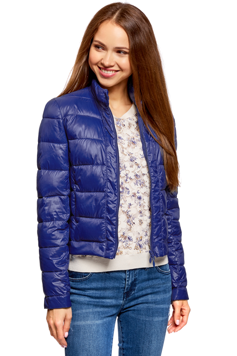 Куртка oodji Ultra куртка джинсовая женская oodji ultra цвет темно синий 11109031 46654 7900w размер 44 50 170