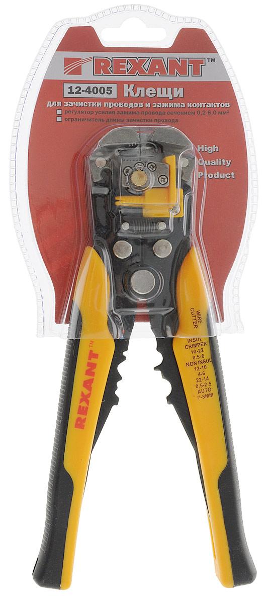 Инструмент для зачистки кабеля Rexant, 0.2 - 6 мм2, и обжима наконечников, HT-766, TL-766