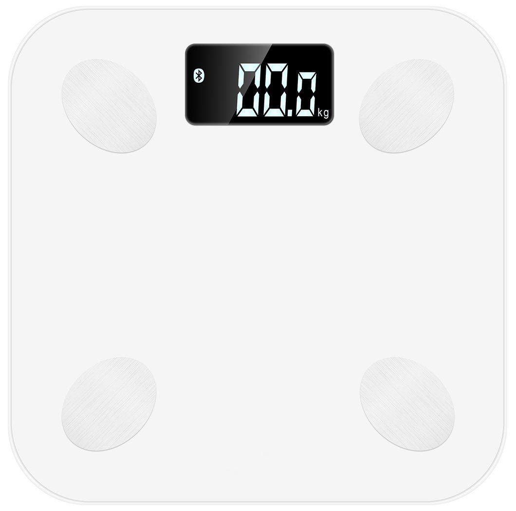 Умные напольные весы MGB Body fat scale, цвет: белый Уцененный товар (№20)