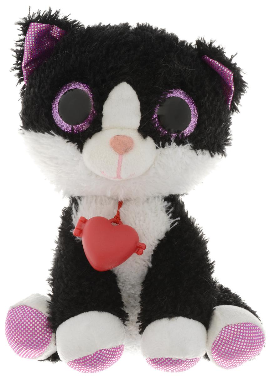 Fancy Мягкая игрушка Котик Глазастик 23 см цены