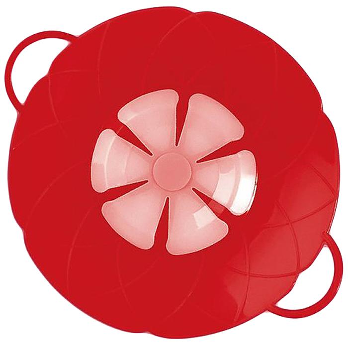 Крышка As Seen On TV Невыкипайка, цвет: красный, 15-25 см блокиратор для мебели as seen on tv 2шт