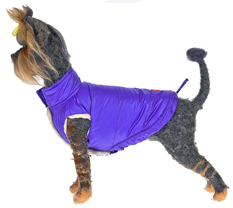 """Жилет для собак Happy Puppy """"Андорра"""", унисекс, цвет: сиреневый. Размер 9"""