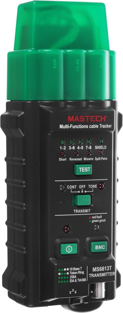 Тестер с генератором сигнала Mastech MS6813T тестер с генератором сигнала mastech ms6812