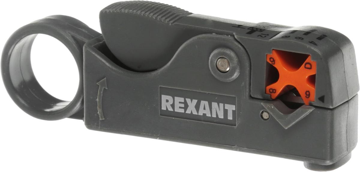 Инструмент для зачистки коаксиального кабеля Rexant HT-332, RG-58, RG-59, RG-6 le hai хайло ht g51 сеть stripper обнажая инструмент универсального инструмента для зачистки отрывного кабель телефонная линия провод