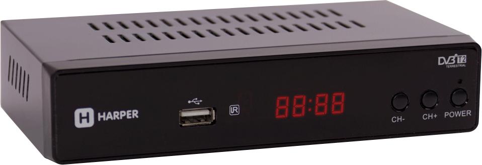 ТВ ресивер Harper HDT2-5050, Black