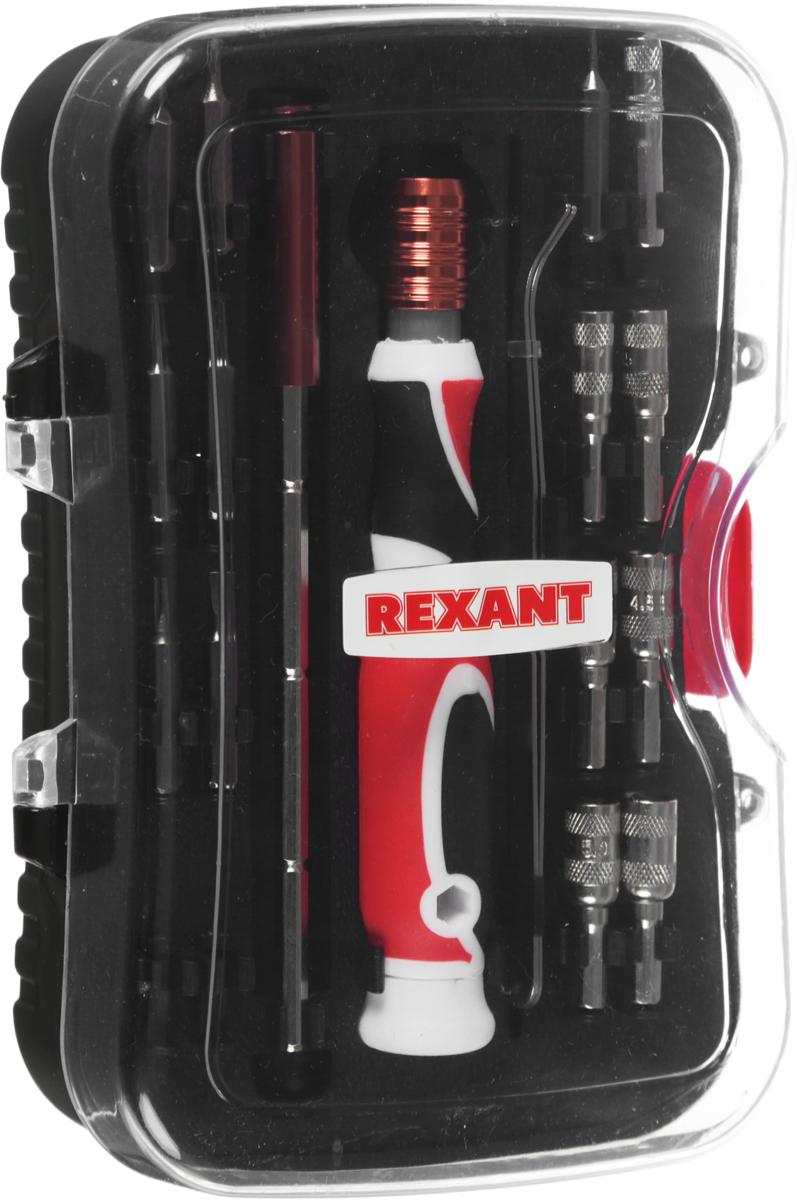 Набор отверток Reхant, 19 предметов набор kraftool отвертки для ремонта мобильных телефонов 12 предметов