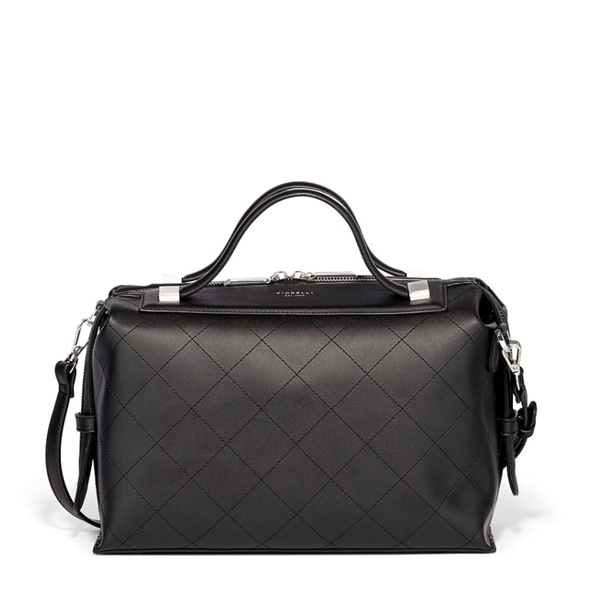 Сумка женская Fiorelli, цвет: черный. 8720 FH Black Stitch эко кожа бордовая сумка из экокожи