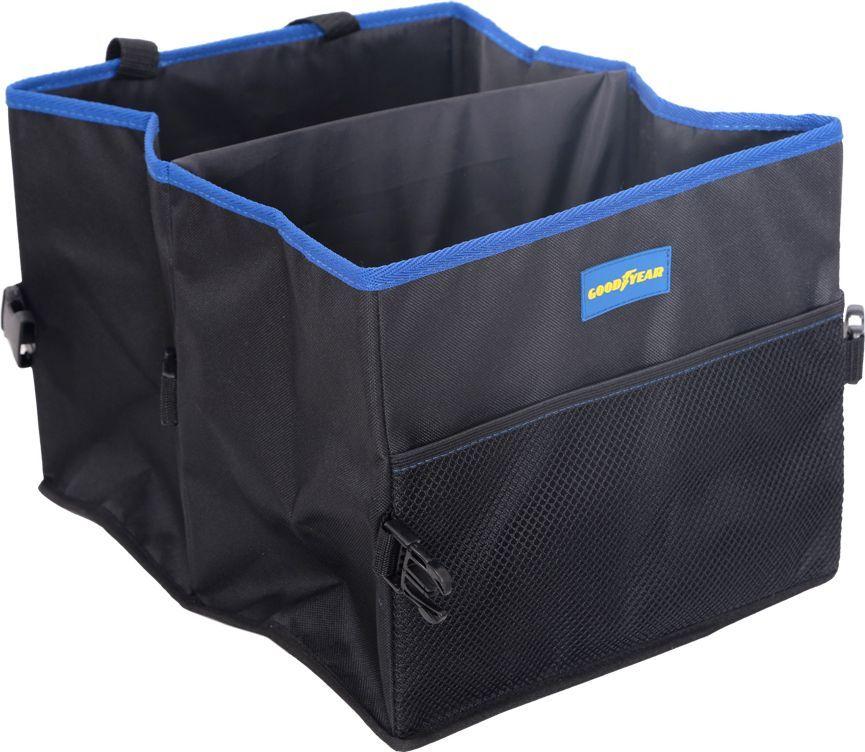 Органайзер в багажник Goodyear, складной, 2 секции органайзер в багажник goodyear складной 1 секция gy001001