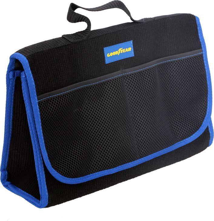 Сумка-органайзер в багажник Goodyear, 35 х 12 х 25 см органайзер в багажник goodyear складной 1 секция gy001001