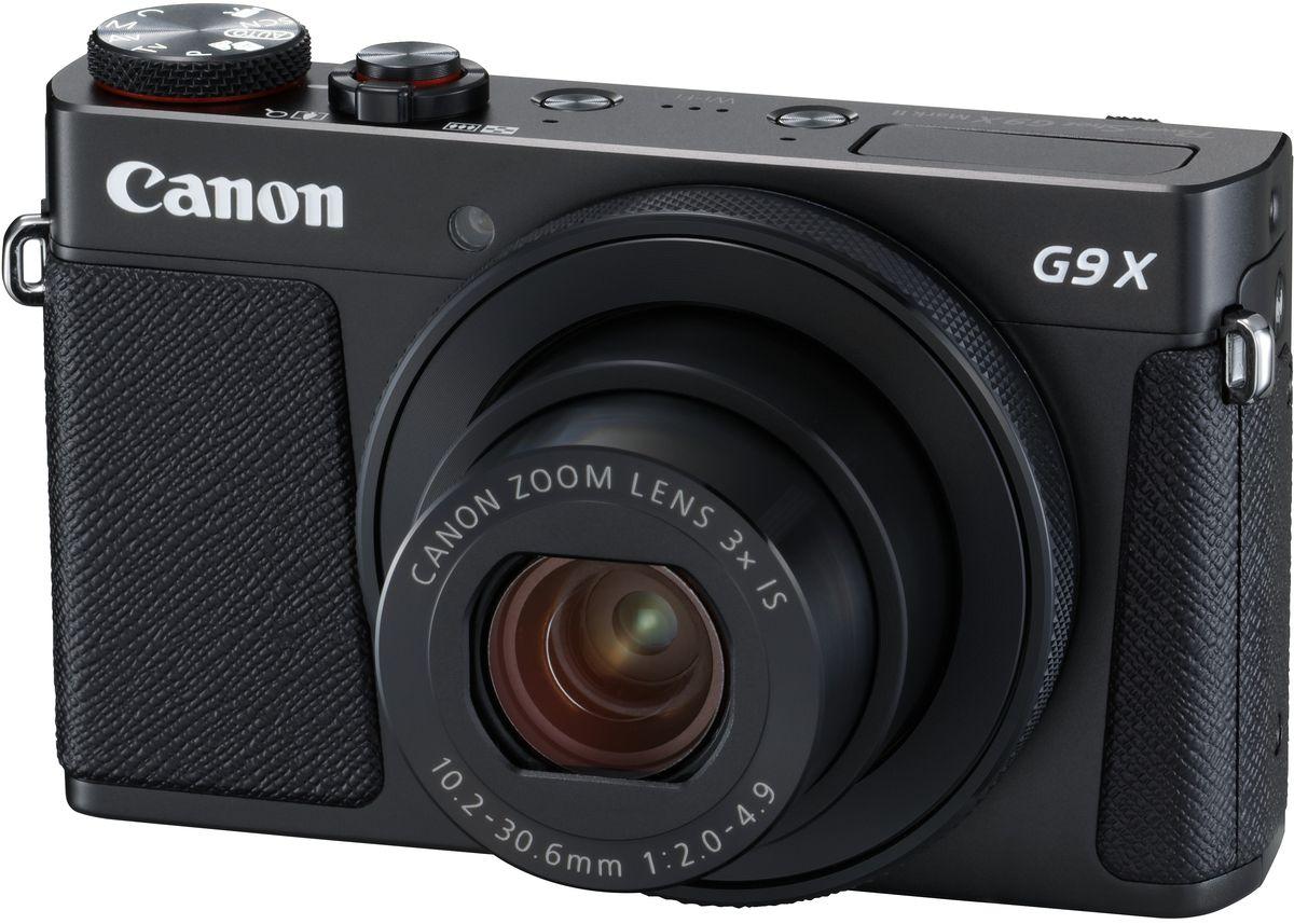 Компактный фотоаппарат Canon PowerShot G9 X Mark II, Black