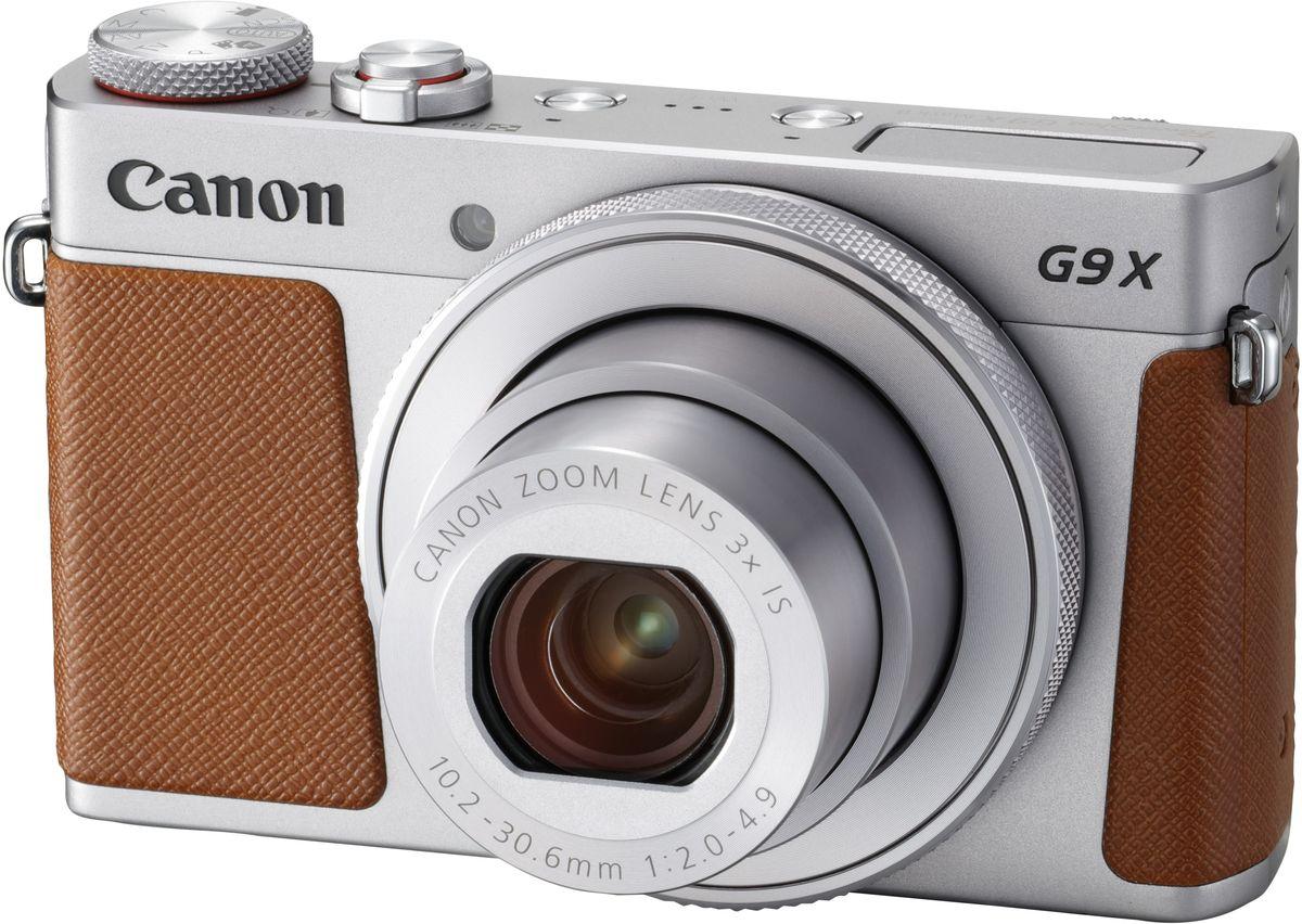 Компактный фотоаппарат Canon PowerShot G9 X Mark II, Silver