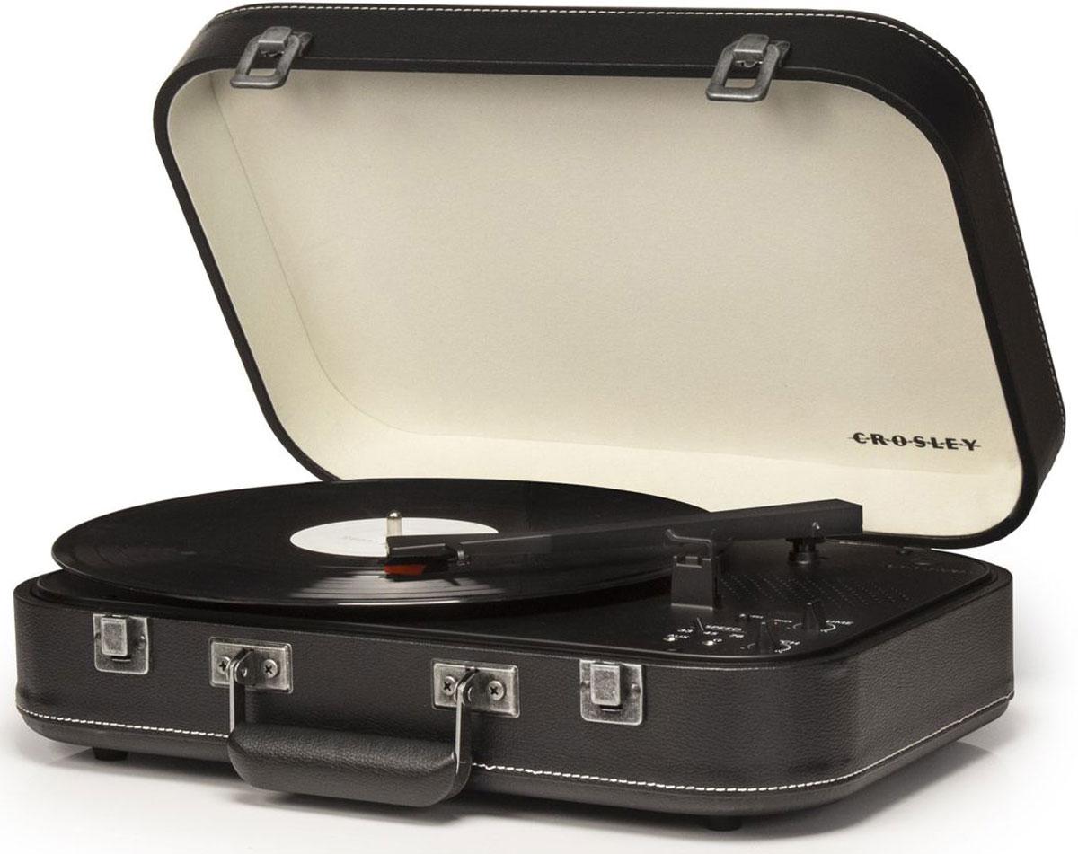 Проигрыватель виниловых дисков Crosley Coupe, Black crosley executive brown black