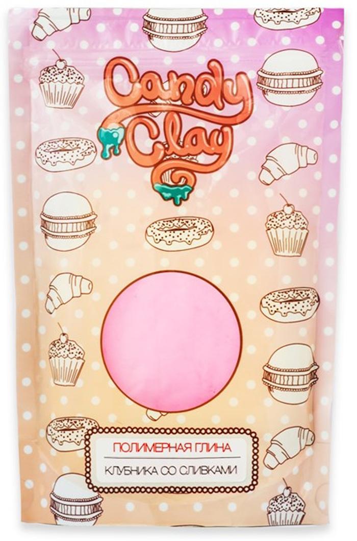 """Глина полимерная кондитерская Candy Clay """"Fleur"""", цвет: клубника со сливками"""