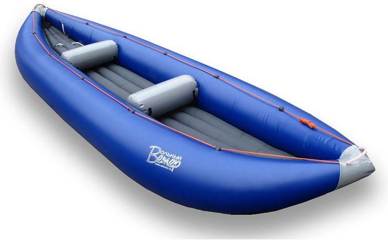 Лодка Вольный ветер Пионер 450, цвет: синий