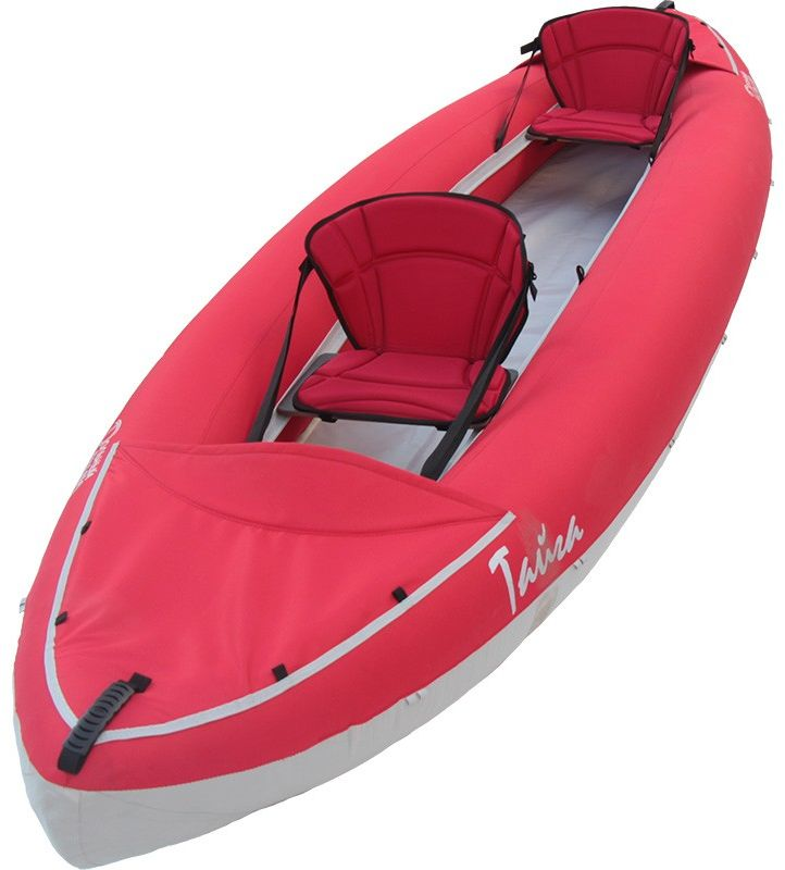 Лодка Вольный ветер Тайга 430, цвет: красный