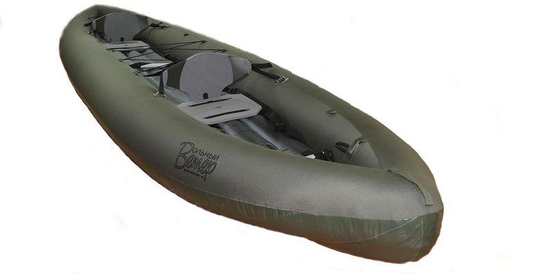 """Лодка Вольный ветер """"Т-47"""", цвет: серый"""