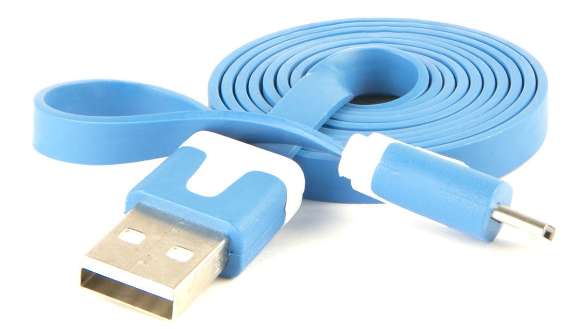 Red Line, Blue кабель USB-microUSB (1 м) кабель usb microusb cellular line usbdatacmicrousbb blue
