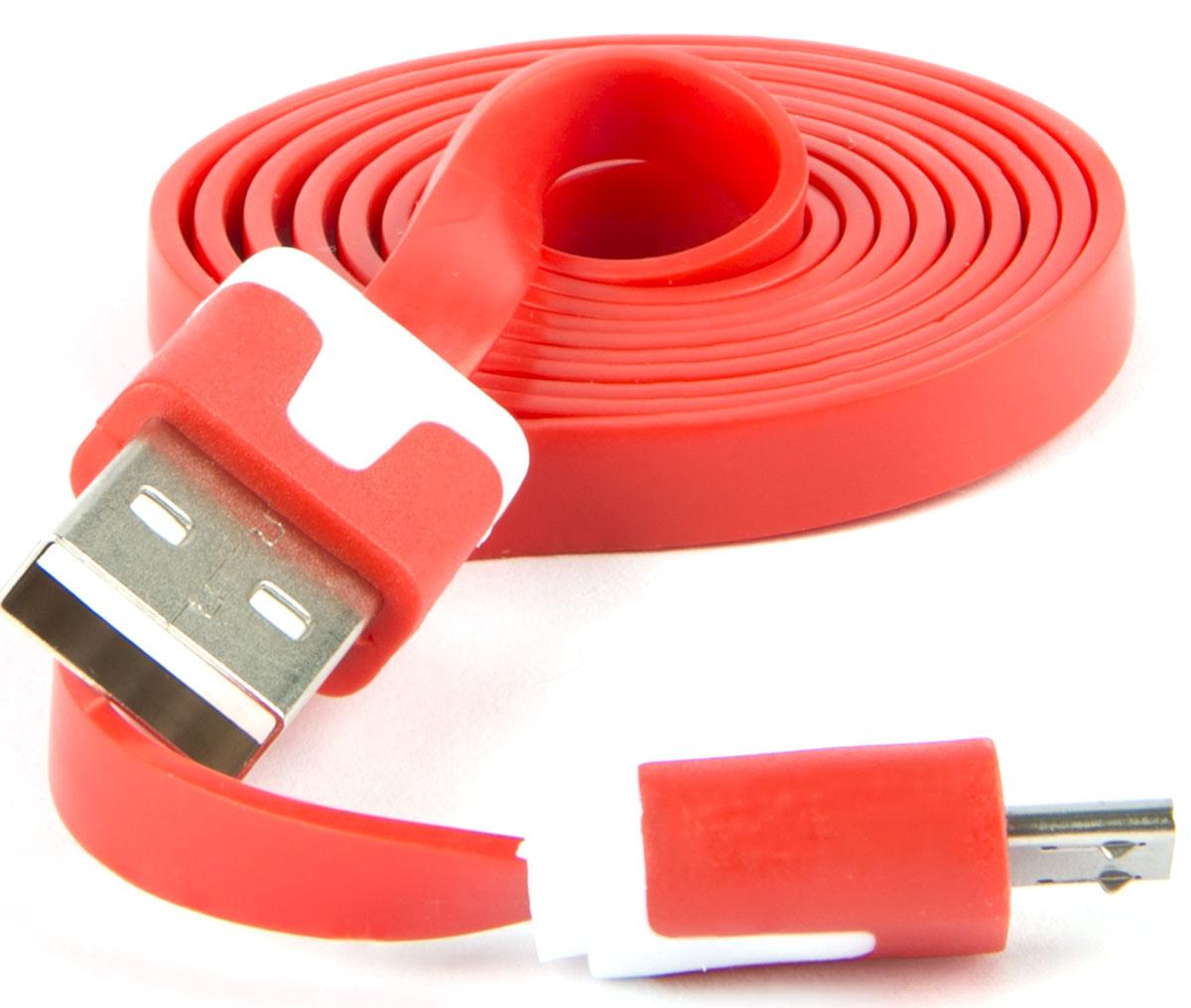 Red Line, Red кабель USB-Micro USB (1 м) red line zync alloy black кабель usb lightning 1 м