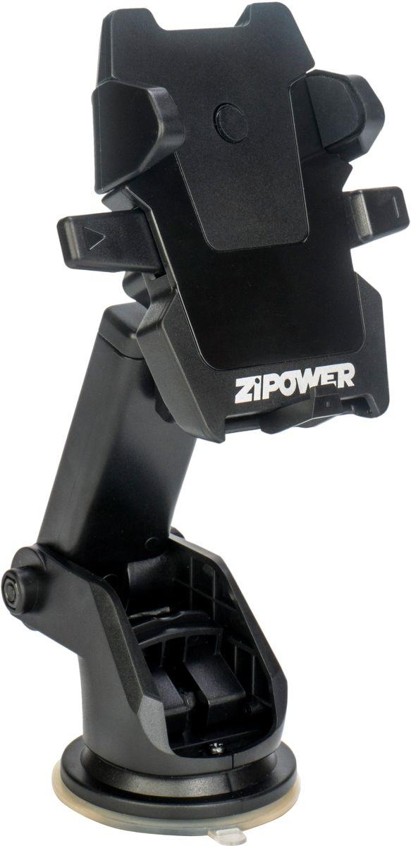 Держатель для телефона автомобильный Zipower, 53-83 мм. PM 6626 держатель автомобильный zipower для телефона 50 80 мм pm 6627