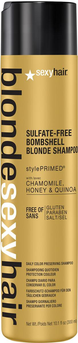 Sexy Hair Кондиционер для сохранения цвета без сульфатов, BLSH Bombshell Blonde Conditioner, 300 мл