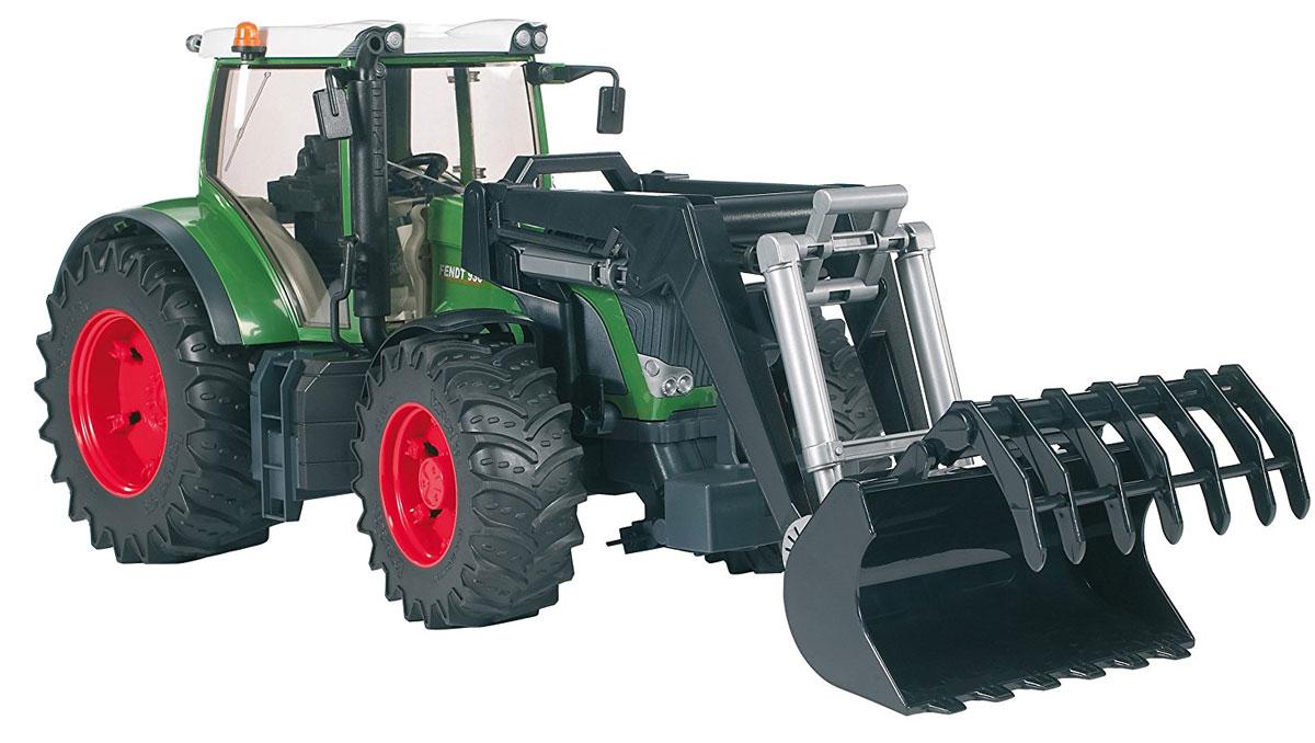 Bruder Трактор Fendt 936 Vario с погрузчиком цена
