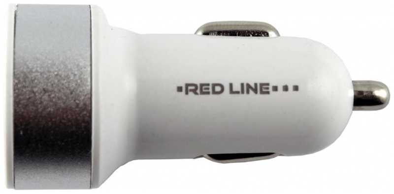 цена на Red Line C19, Silver White автомобильное зарядное устройство