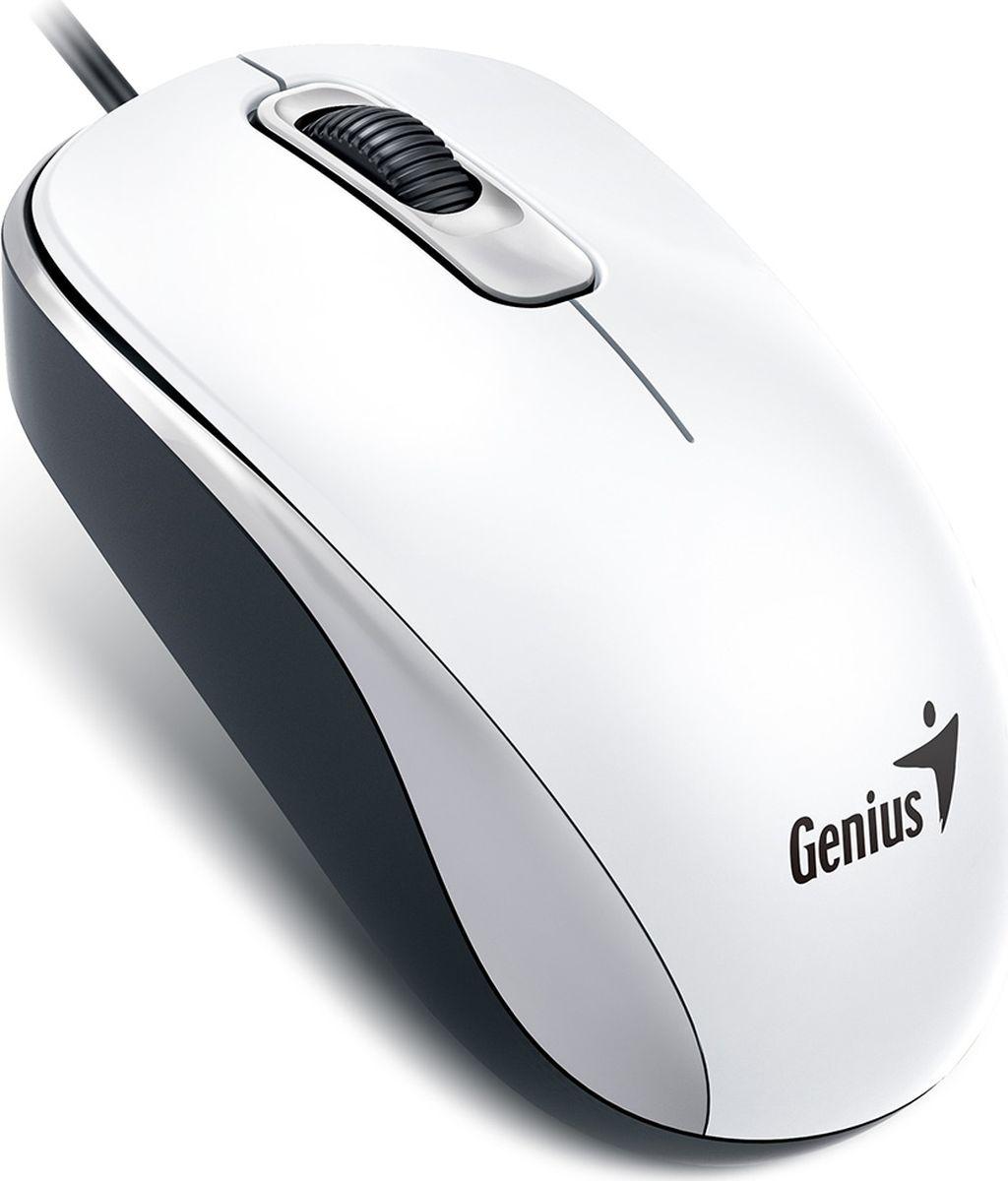 Мышь Genius DX-110, White