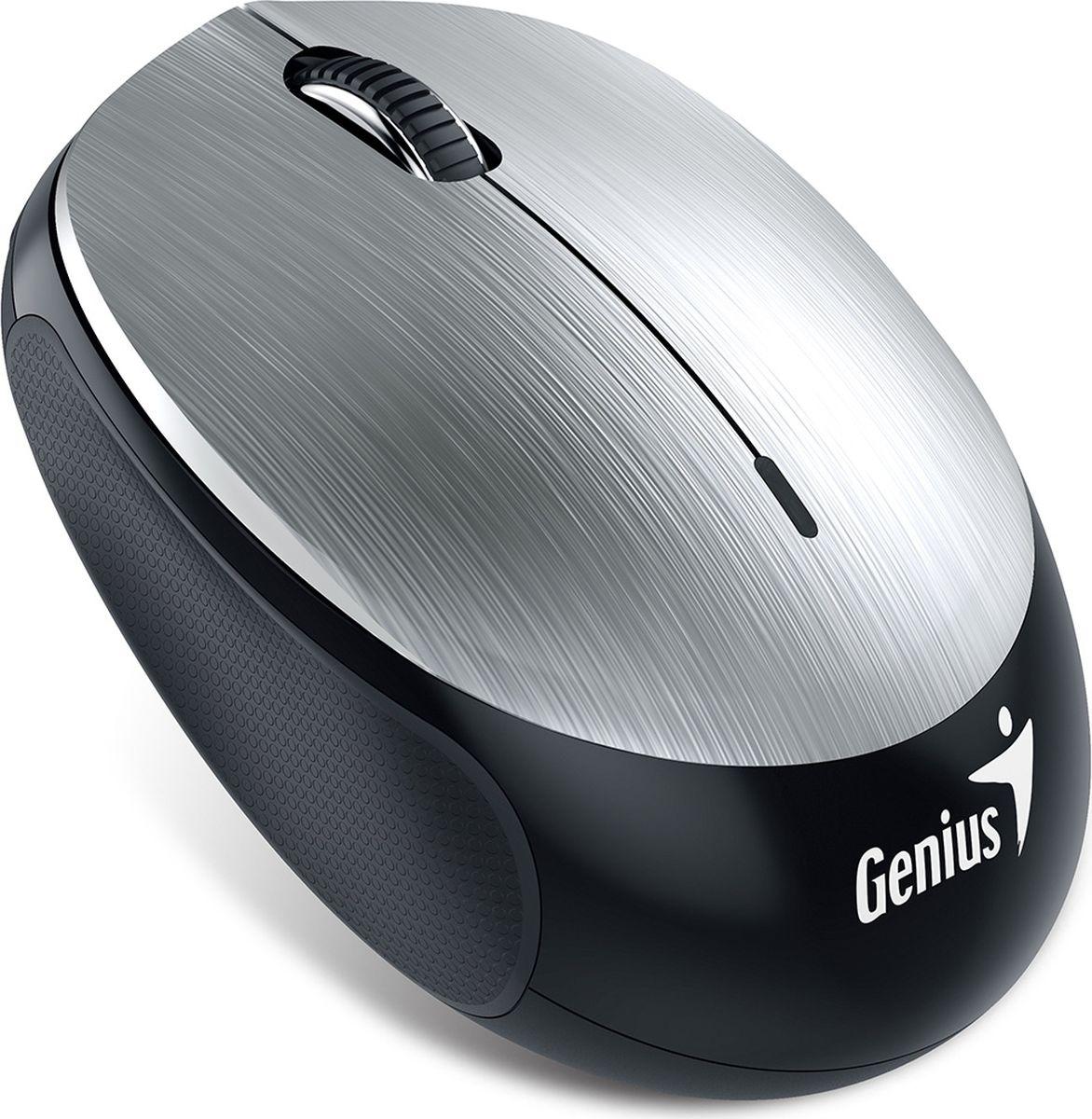 лучшая цена Мышь Genius NX-9000BT V2, Silver беспроводная