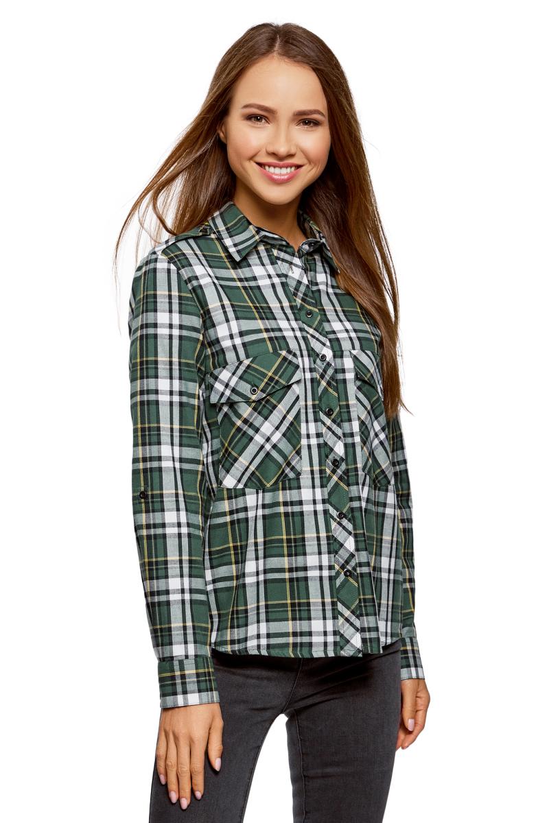 цена Рубашка oodji онлайн в 2017 году