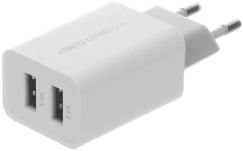 Red Line Z2 Lux, White сетевое зарядное устройство