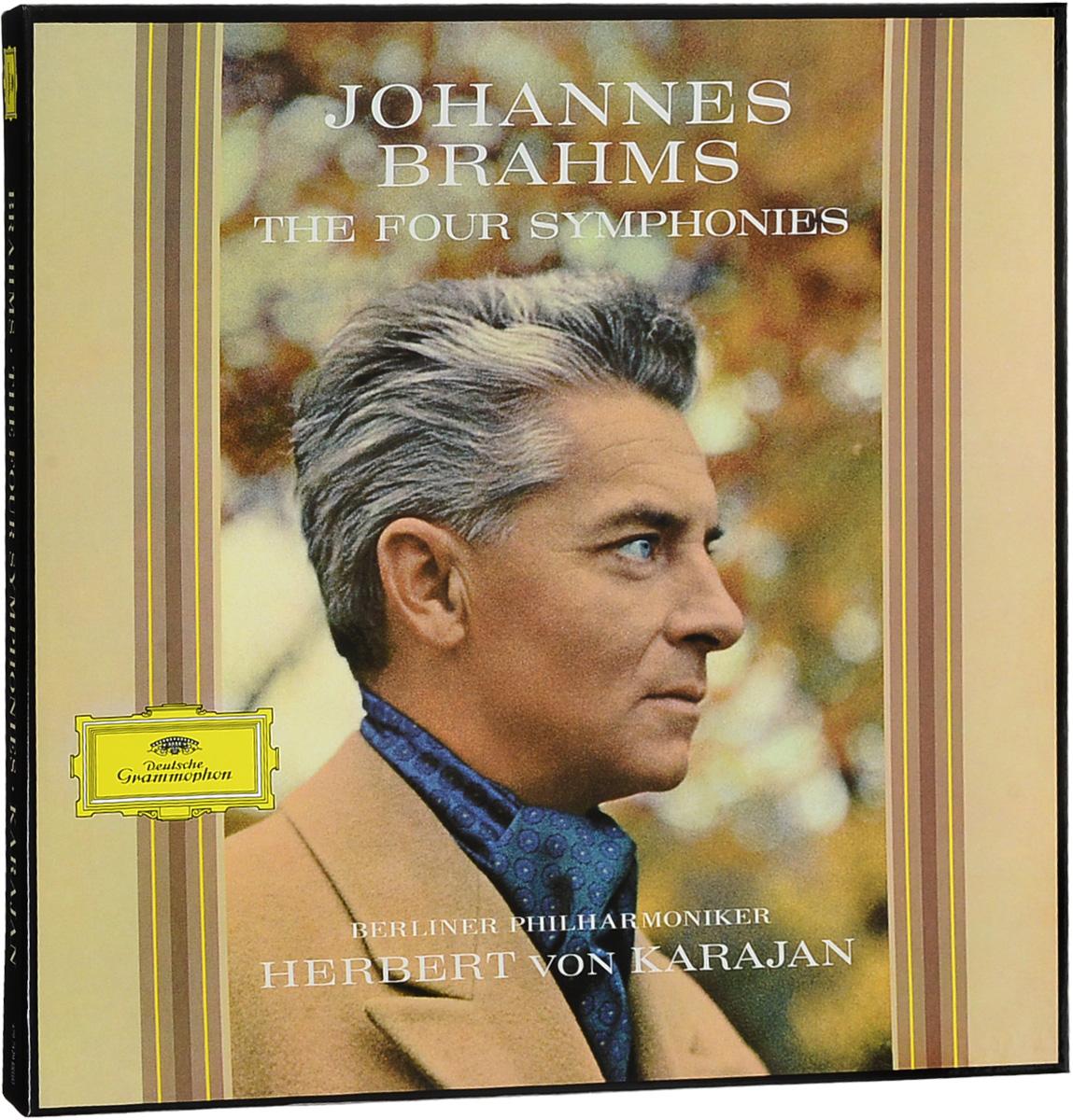 Иоганнес (Йоханнес) Брамс Johannes Brahms. Four Symphonies (4 LP) johannes brahms