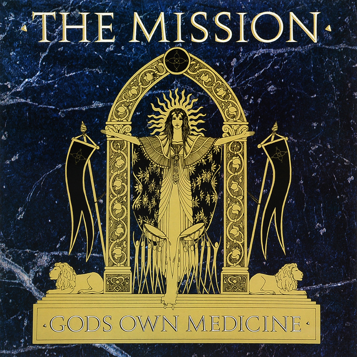 The Mission The Mission. God's Own Medicine (LP) the mission gold the videos