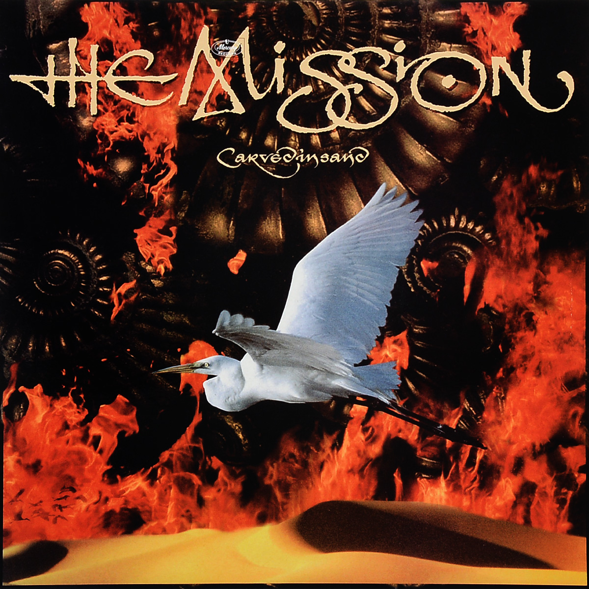 The Mission The Mission. Carved In Sand (LP) the mission gold the videos