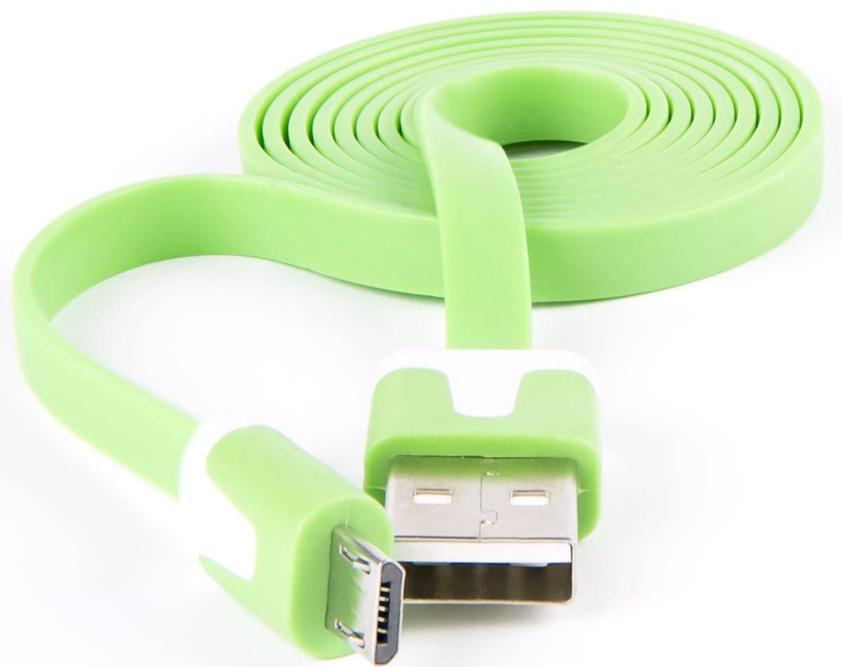 Red Line, Green кабель USB-Micro USB (1 м) red line zync alloy black кабель usb lightning 1 м