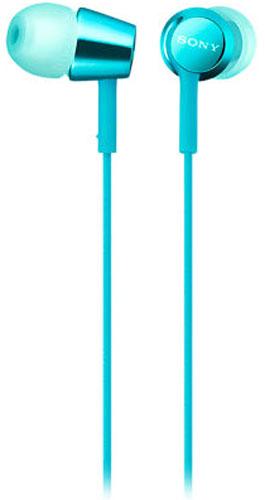 Sony EX155AP, Light Blue наушники