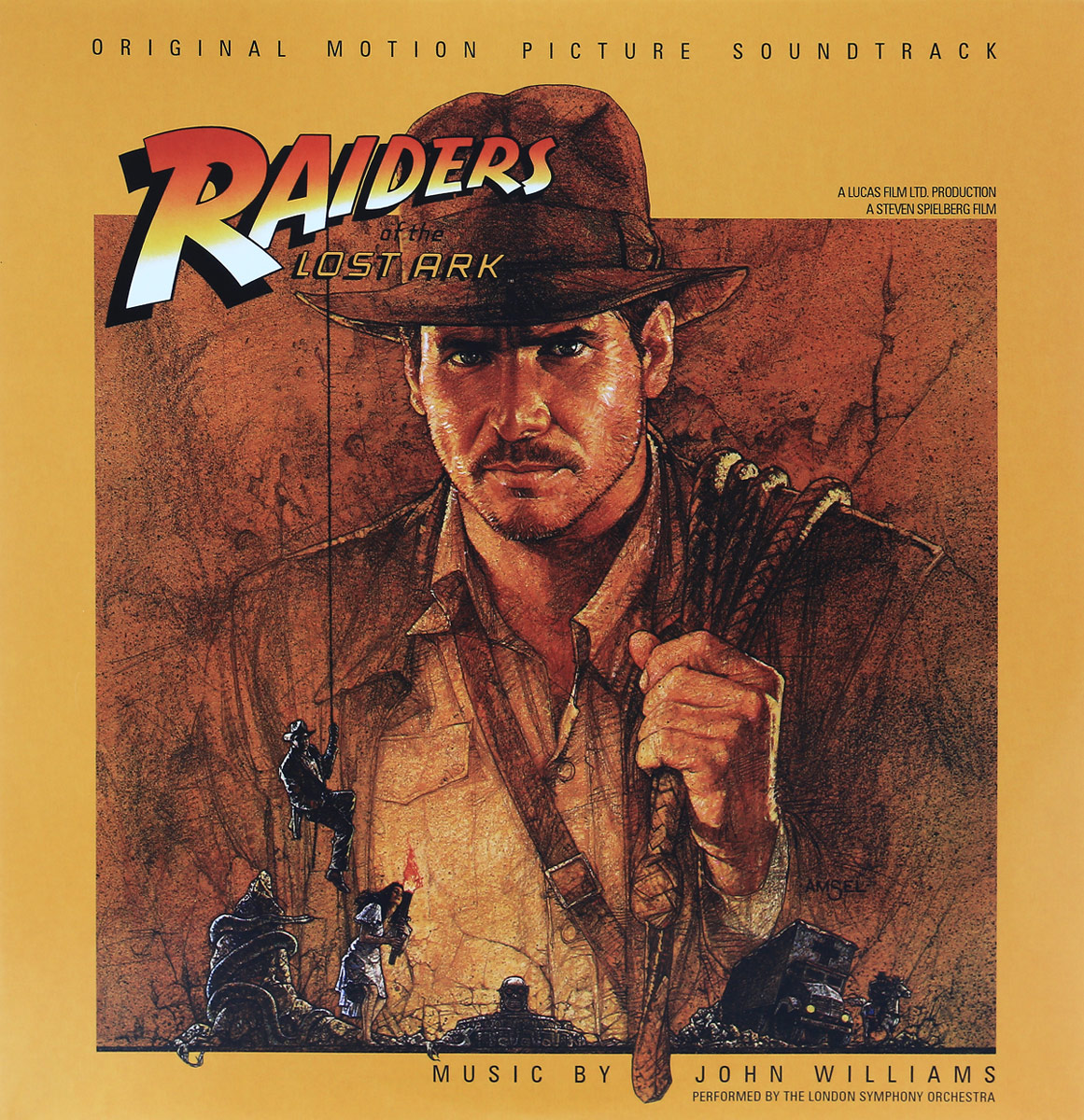 Raiders Of The Lost Ark O.S.T. (2 LP) the ark the ark arkeology