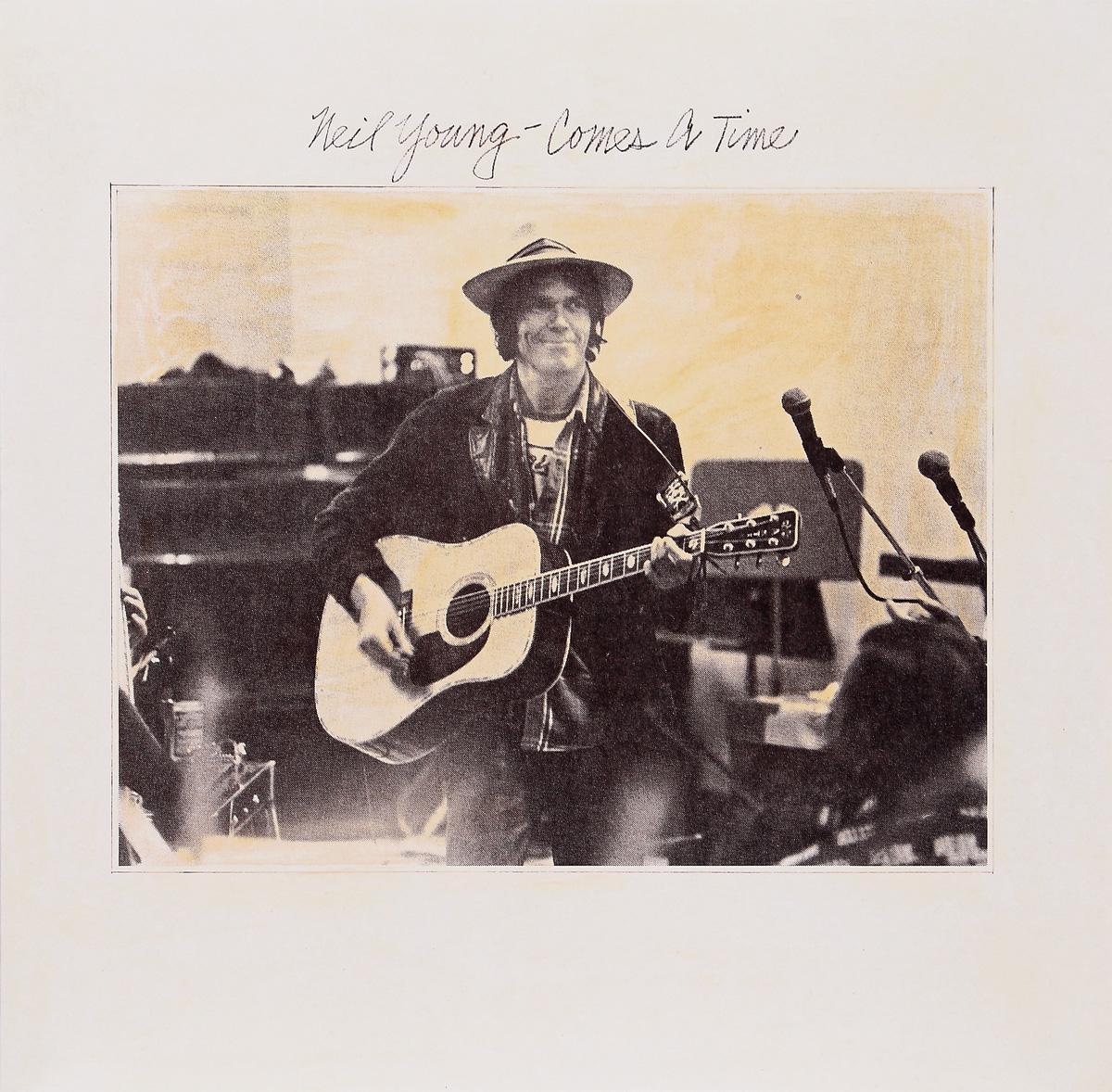 Нил Янг Neil Young. Comes A Time (LP)