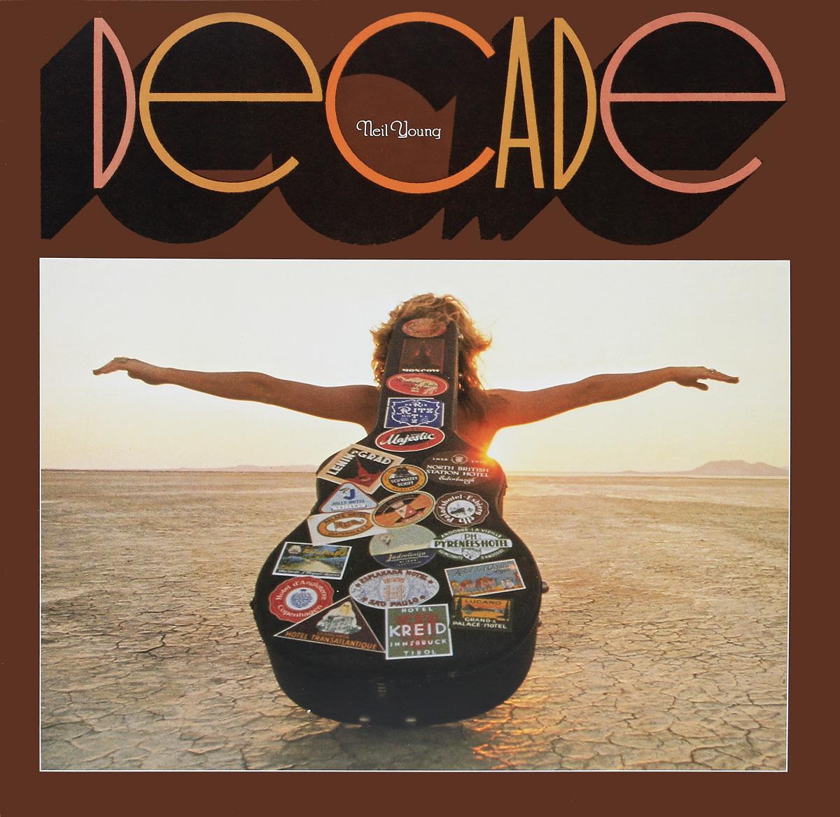 Нил Янг Neil Young. Decade (3 LP)