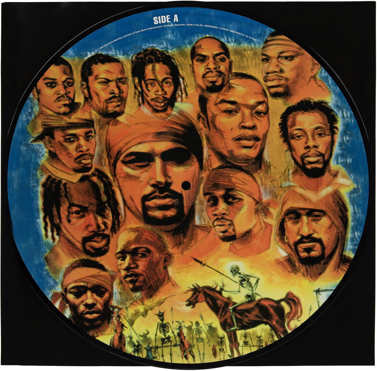 DJ Muggs Dj Muggs. The Soul Assassins. Chapter 1 (2 LP) dj muggs dj muggs the soul assassins chapter 1 picture disc