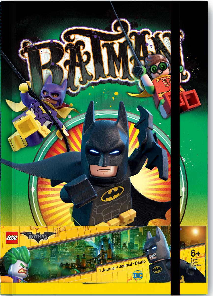 LEGO Batman Movie Блокнот Бэтмен96 листов в линейку lego batman movie набор блокнот на спирали 100 листов в линейку и гелевая ручка
