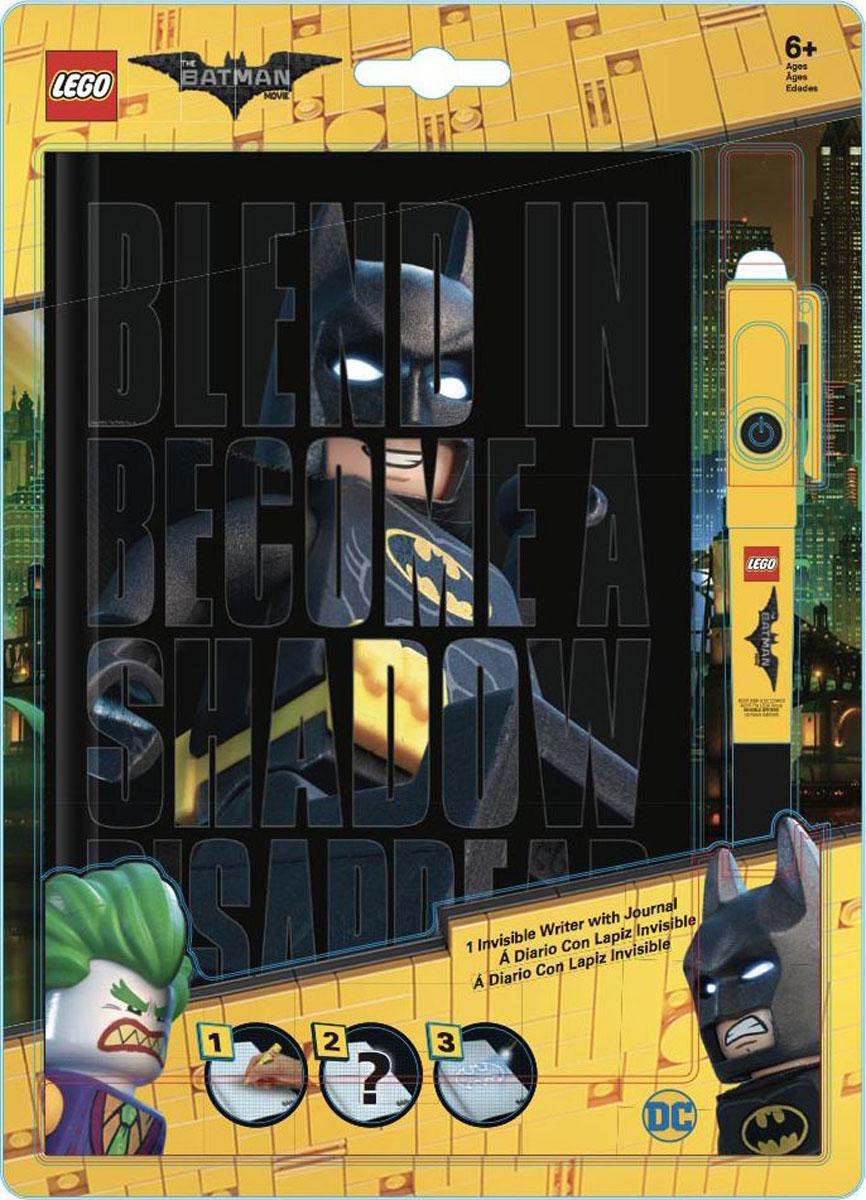 LEGO Batman Movie Блокнот Бэтмен96 листов в линейку и ручка с фонариком