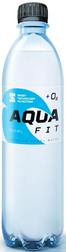 Вода питьевая Sport Technology Nutrition Aqua Fit, негазированная, обогащенная кислородом, I категории, 500 мл
