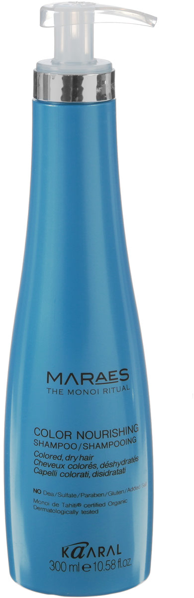 Kaaral Питательный шампунь Maraes Color Nourishing Shampoo, 300 мл